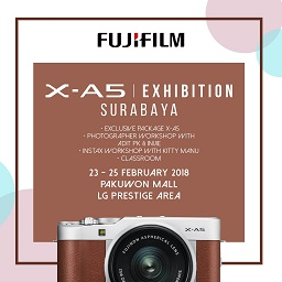 Fujifilm X-A5 Exhibition