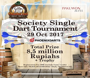 Society Single Dart Competition