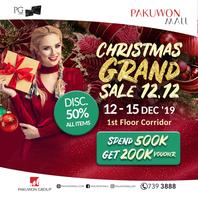 Christmas Grand Sale 12.12