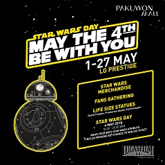 Starwars Day: May the 4th be with You