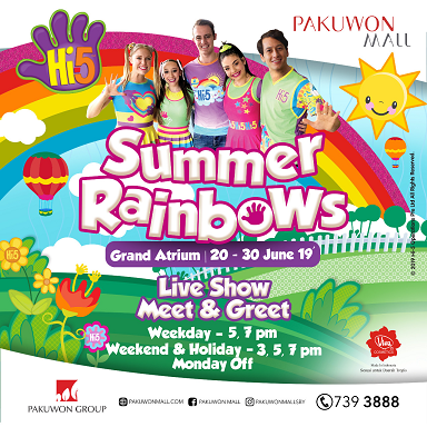 HI-5 DI SUMMER RAINBOW