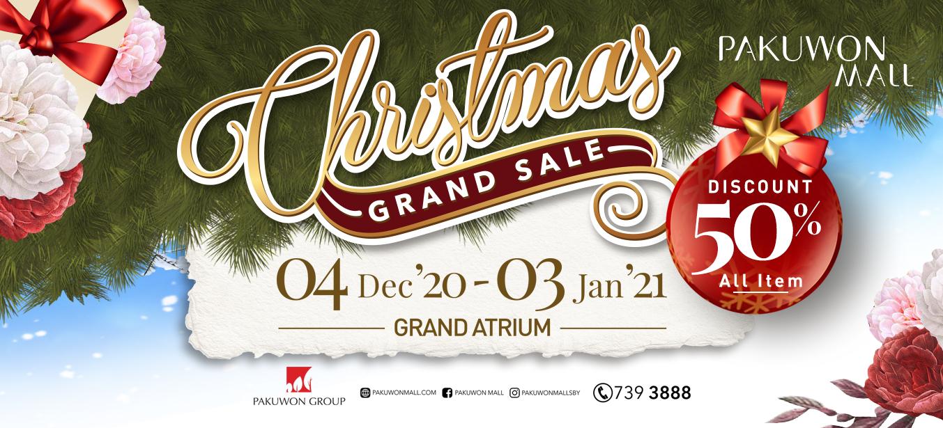 Christmas Grand Sale