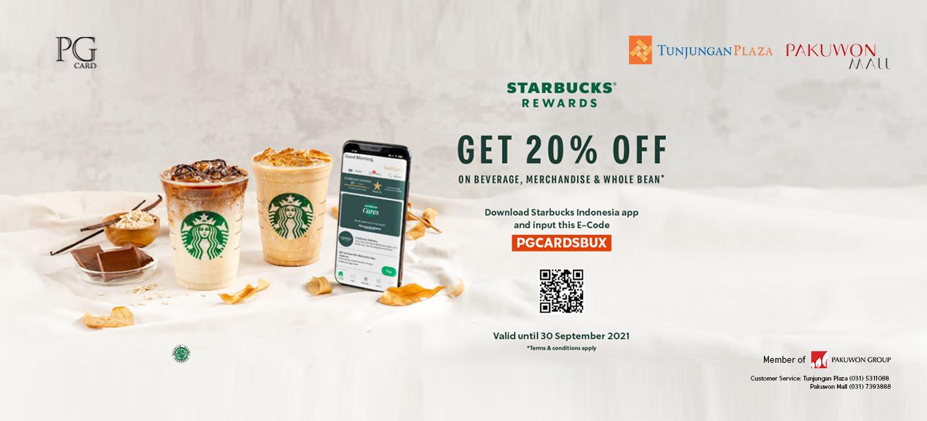 Starbucks x PG